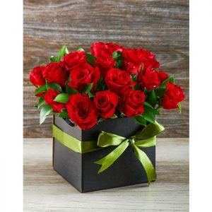 جعبه گل کادویی