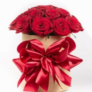 جعبه گل رز استوانه ای