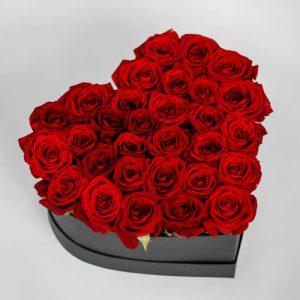 جعبه گل ولنتاین