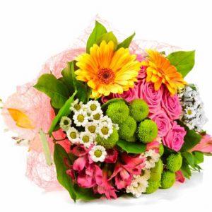 دسته گل ترکیبی حس بهاری