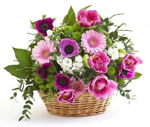 سبد گل باغ بهشت
